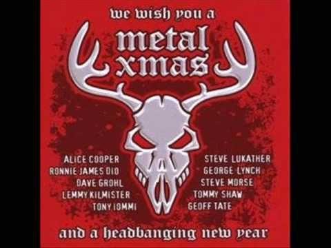 Heavy metal Christmas songs