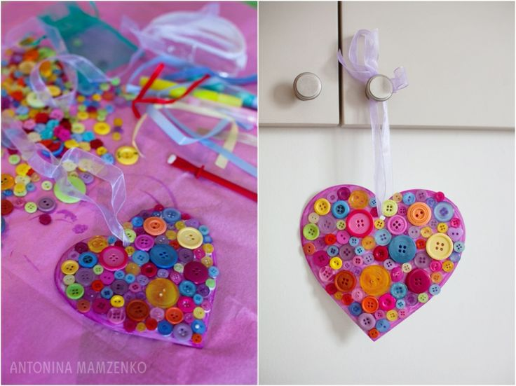 Valentines Craft Ideas Kids Part - 27: Easy Kids Crafts Activity - Hand Made Valentine