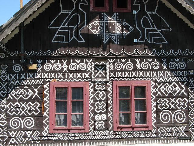 The Goulash Train - A Central and Eastern Europe Travel Guide: Beautiful Towns # 9 - Čičmany, Slovakia