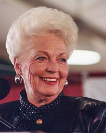 """Ann Richards """"If you give us the chance, we can perform. After all, Ginger Rogers did everything that Fred Astaire did. She just did it backwards and in high heels."""""""