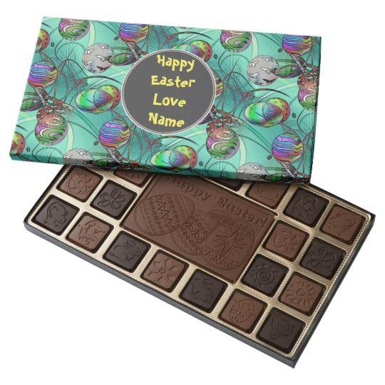 Fancy Easter Eahggs Custom Chocolates