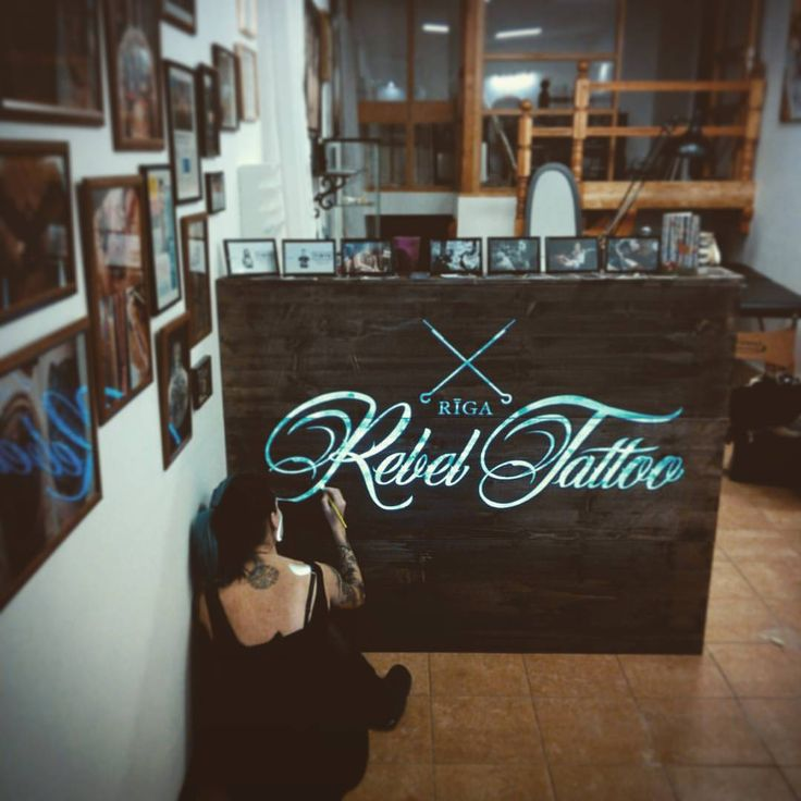 Tattoo studio interior 25 pinterest for Tattoo shops katy texas