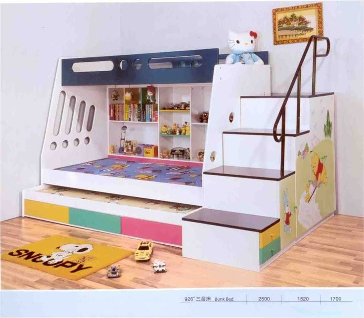 15 Brilliant Toddlers Bunk Beds