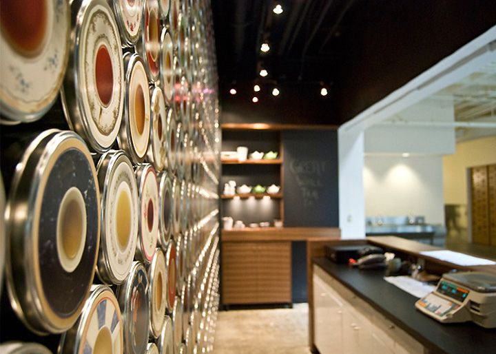 TEA SHOP! Great Wall Tea Company by Marianne Amodio, New Westminster   Canada store design