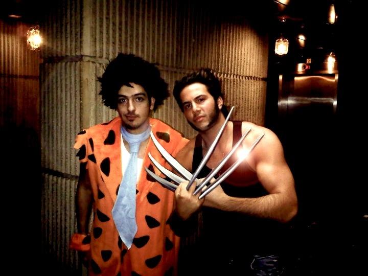 #Wolverine #Flintstones #Halloween Costume