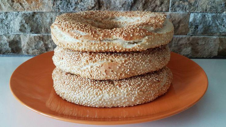 sesame seed bagels, best bagels recipe, macedonian bagels, варени ѓевречиња, варен ѓеврек