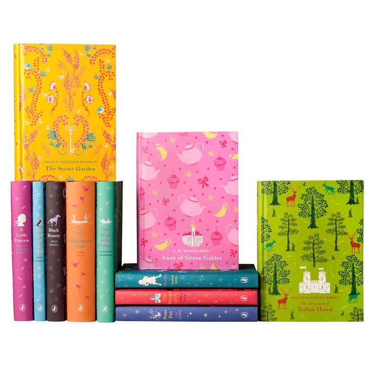 Make your own set of Puffin books from Penguin's series of classic literature for young readers.