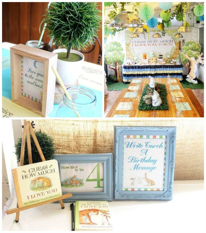 Guess How Much I Love You Birthday Bunny Party via Kara's Party Ideas KarasPartyIdeas.com (2)