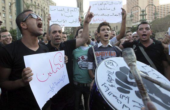 La oposición laica se enfrenta a los Hermanos Musulmanes en Tahrir   Internacional   EL PAÍS
