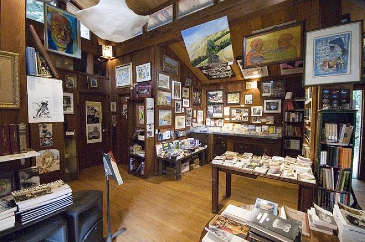 Henry Miller Memorial Library in Big Sur