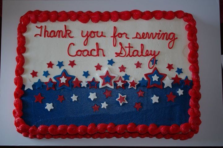 red white blue sheet cake usa american   My Cakes ...