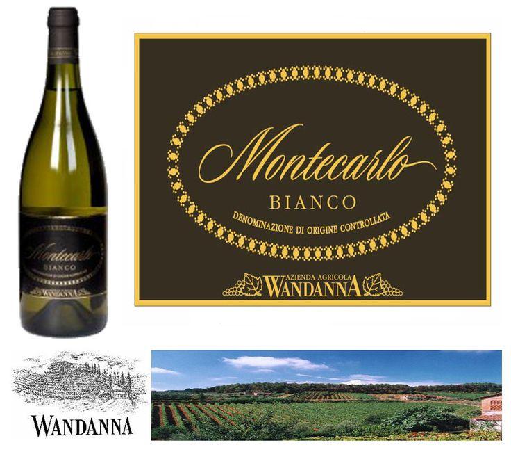 Vino Bianco Toscana Montecarlo Doc Lt.0,750 Wandanna Montecarlo Lucca