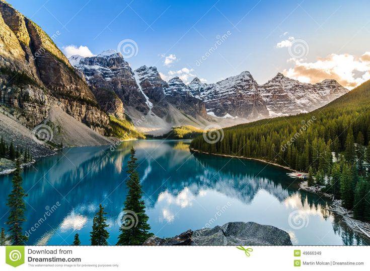 17 meilleures id es propos de lac moraine sur pinterest - Heure du coucher de soleil aujourd hui ...