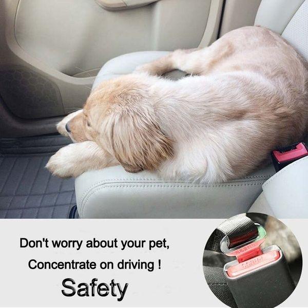 Vehicle Car Seat Belt Seatbelt Harness Lead Clip Pet Cat Dog