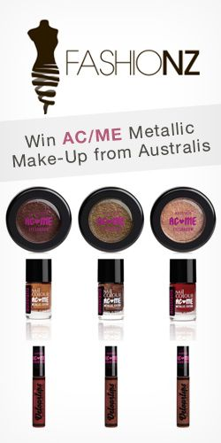 Get in to #Win AC/ME Metallic #MakeUp from Australis! #competition #beauty