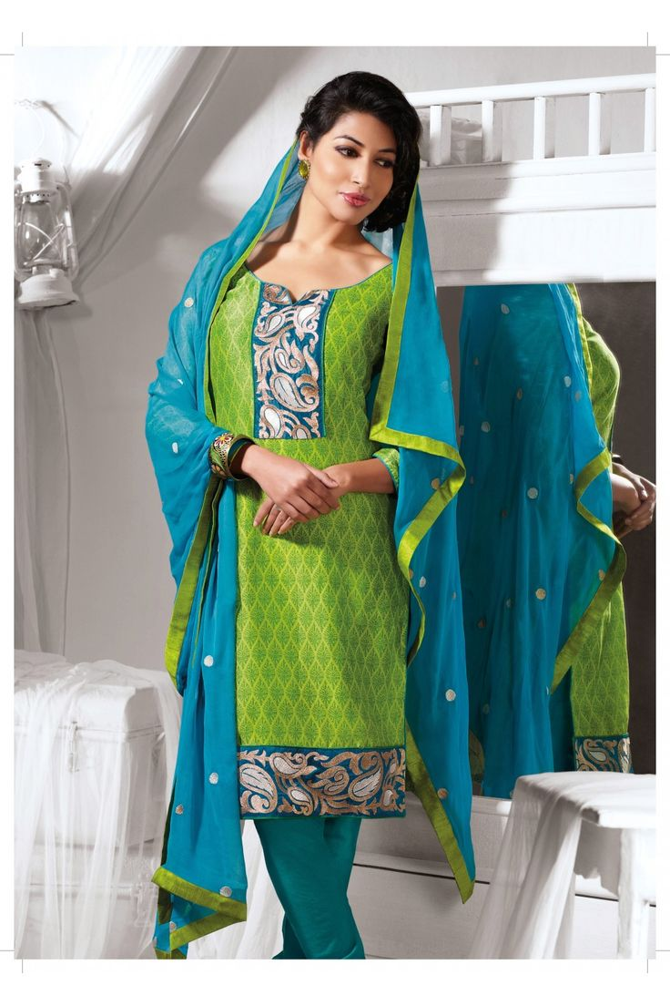 Sparkling Lime Green Salwar Kameez :- Dazzling green colour kurta with decorative print and border work comes with charming bottom and border dupatta.This cotton silk suit perfect and comfortable wear for all party. - See more at: http://www.daindiashop.com/suits/sparkling-lime-green-salwar-kameez-dis-diff-36382#sthash.KGnfi4sq.dpuf