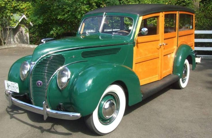 25 b sta station wagon id erna p pinterest 1980 talet for 1938 ford 4 door sedan
