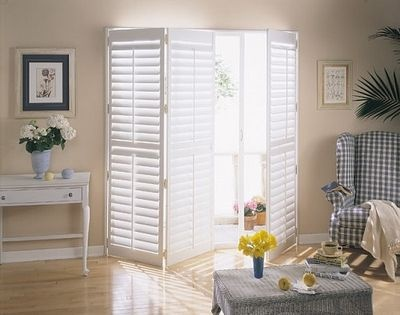 Plantation Shutters For Sliding Glass Doors Cottages By