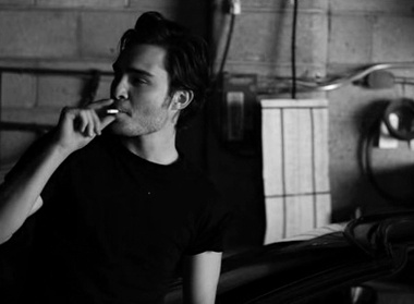 Ed Westwick, thanks for making me forget about Jude Law's ...