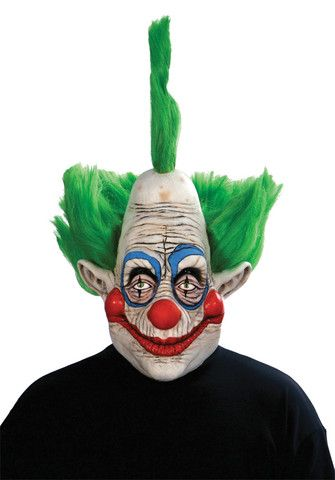 KILLER CLOWNS FROM OUTER SPACE 3 - Full Over The Head Realistic Halloween MASK
