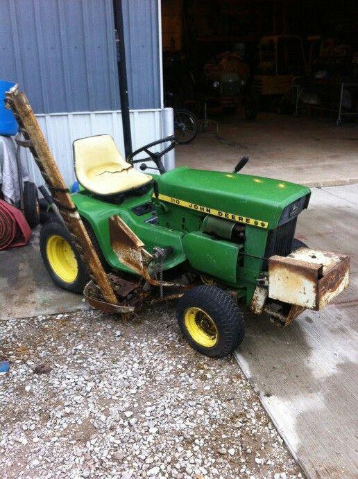 227 best john deere images on pinterest tractors grass - Sickle bar mower for garden tractor ...