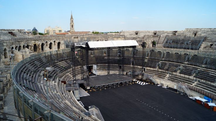 The Arènes of Nîmes is the best preserved amphitheatre in the Roman world. A contemporary of the Colosseum at Rome