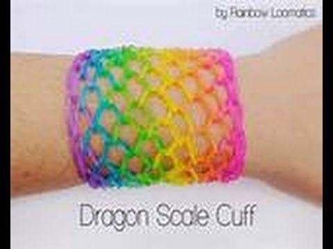 Tutorial braccialetti elastici fishtail con Rainbow loom - YouTube