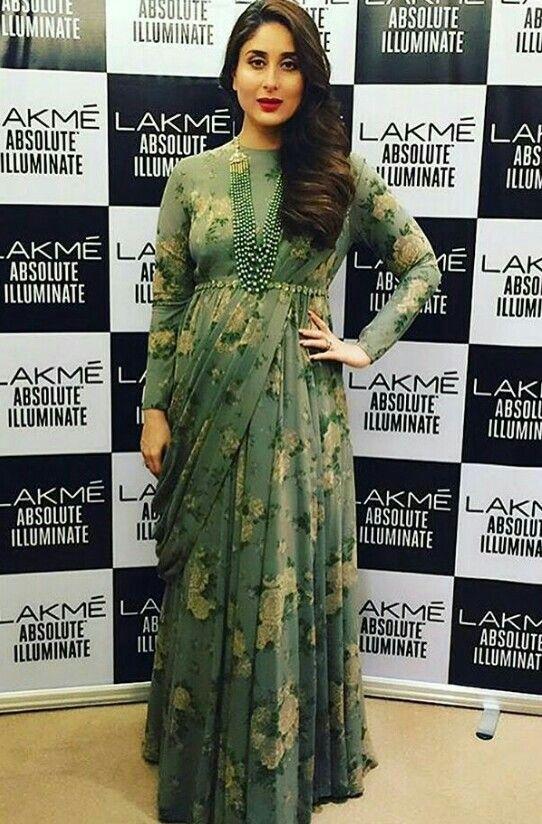Kareena Kapoor in Sabyasachi at Lakmé Fashion Week