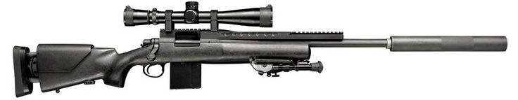 Remmington 700 USR rifle, sweet...