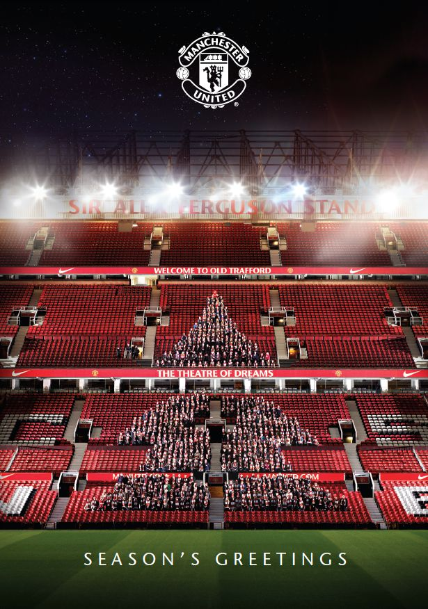 Manchester United- Xmas Greeting! Gotta love United! :)
