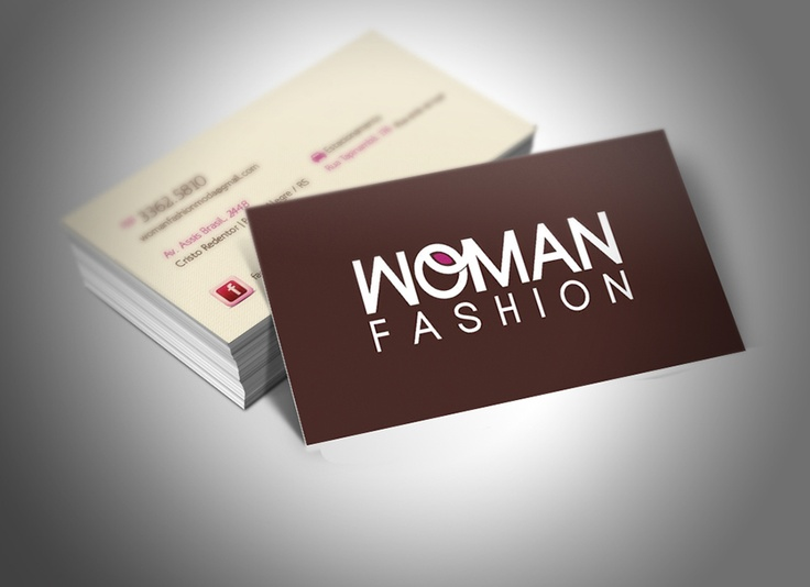 Bussiness Card Woman Fashion (Alexandre Fontes)