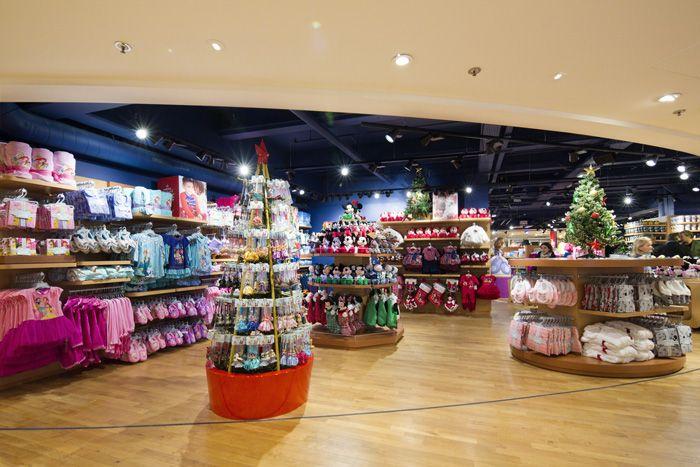 Disney Store s'installe sous la coupole