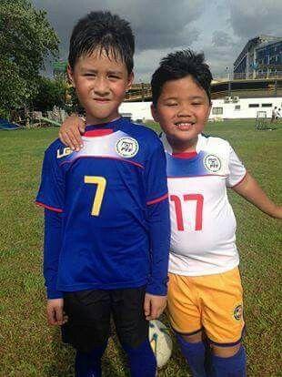 Phoen and Futbol Buddy