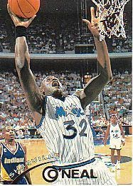 1994-1995 94-95 Topps Stadium Club #32 Shaquille O'Neal Shaq ---> shipping is $0.01 !!!