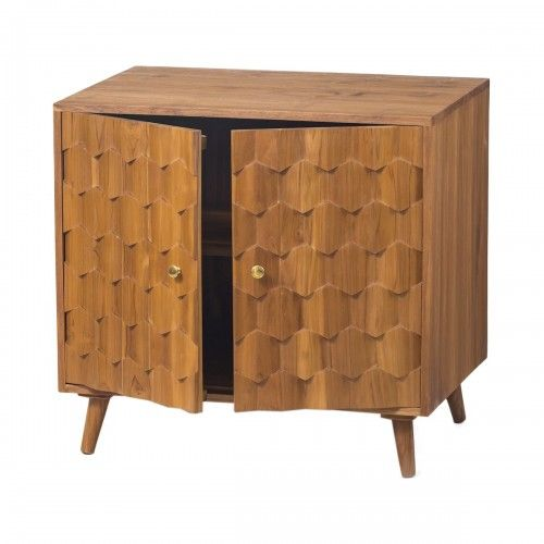 Tidore   lemari kabinet kayu jati desain skandinavia interior rumah foyer cabinet storage kitchen unique design interior furniture home decor