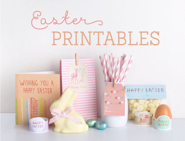 Gorgeous free Easter cards and party themed printables, including these gorgeous woodland creatures, vibrant and loopy themes. Visit the blog to check them all out and download there.