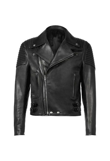 GIVENCHY Leather biker jacket £2,775.00    #GIVENCHY #BOMBER #LEATHER