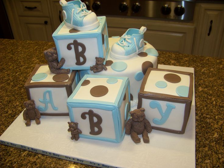 1000 images about alphabet block cakes on pinterest for Alphabet blocks cake decoration