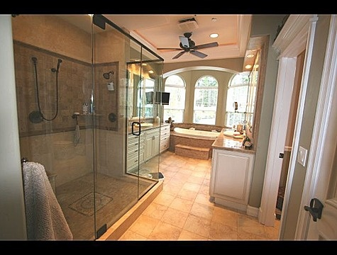 big bathroom is a necessity for a girl - Big Bathroom Designs