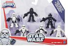 """﹩29.95. Playskool Heroes Star Wars Galactic Heroes Imperial Forces Pack Disney Hasbro    Character Family - Galactic Heroes, Size - 2.5"""", Packaging - Original (Unopened), Accessory Type - Galactic Heroes, Recommended Age Range - 3 - 7 years, Type - Action Figure,"""