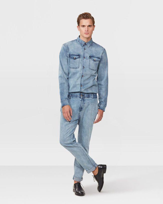 WE Fashion Denim Slim Fit Jogger