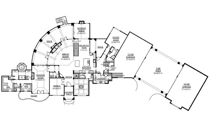 259 Best Unique Floor Plans Images On Pinterest House