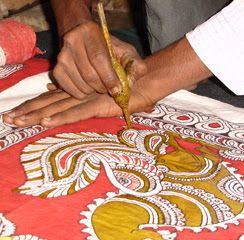 Kalamkari Process