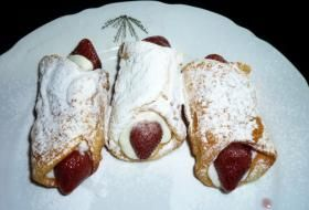 smažené trubičky cannoli | recept
