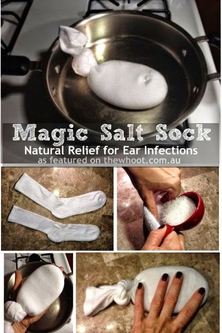 Helping Kids Grow Up: The MAGIC Salt Sock: Natural Relief For Ear Infections
