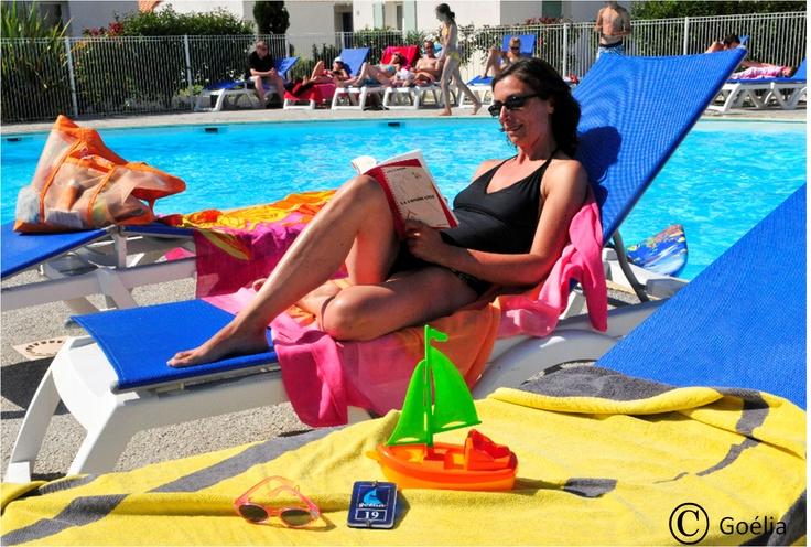 La piscine de la résience La Palmeraie