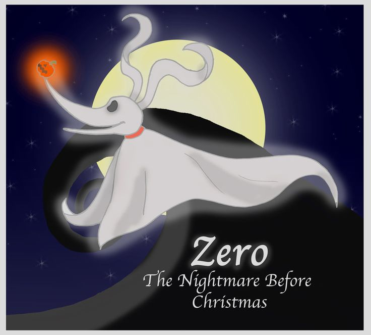 Best 25+ Zero nightmare before christmas ideas on Pinterest ...