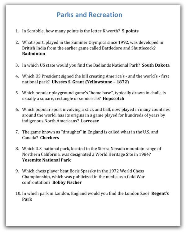 Quiz Night Kit 3 Trivia Night Trivia Categories Trivia Night Questions