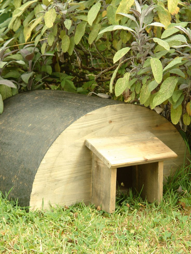Encourage hedgehogs to take up residence in your garden with this specially designed house that is just perfect for over winter hibernation....