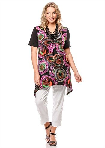 #TS Intrigue Tunic #plussize #curvy #takingshape
